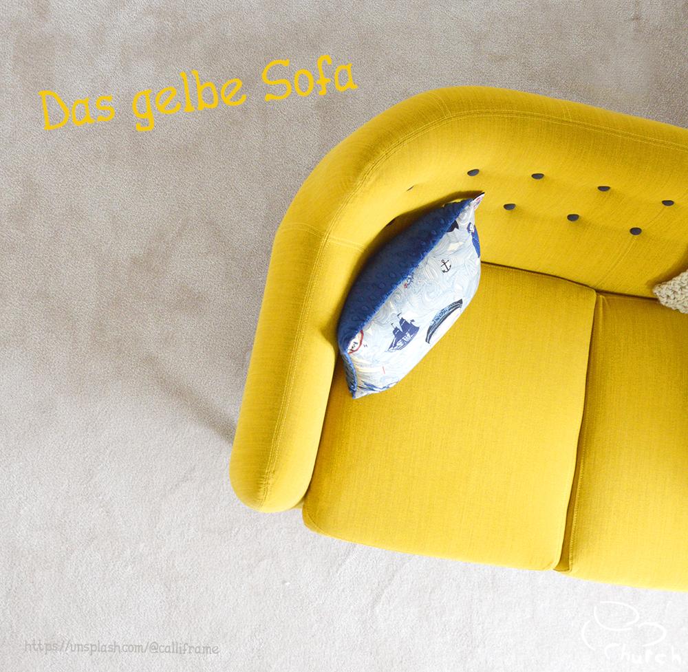 Das gelbe Sofa