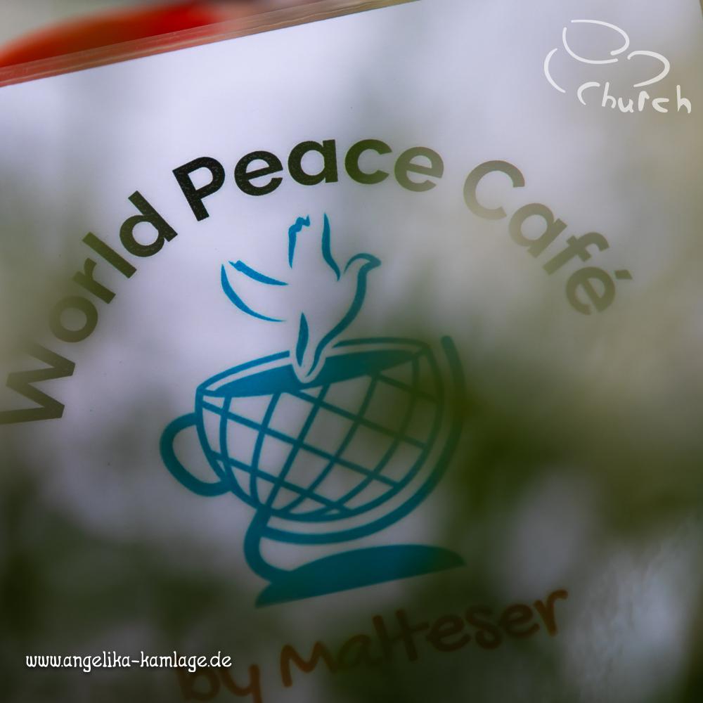 Frieden in der Kaffeetasse