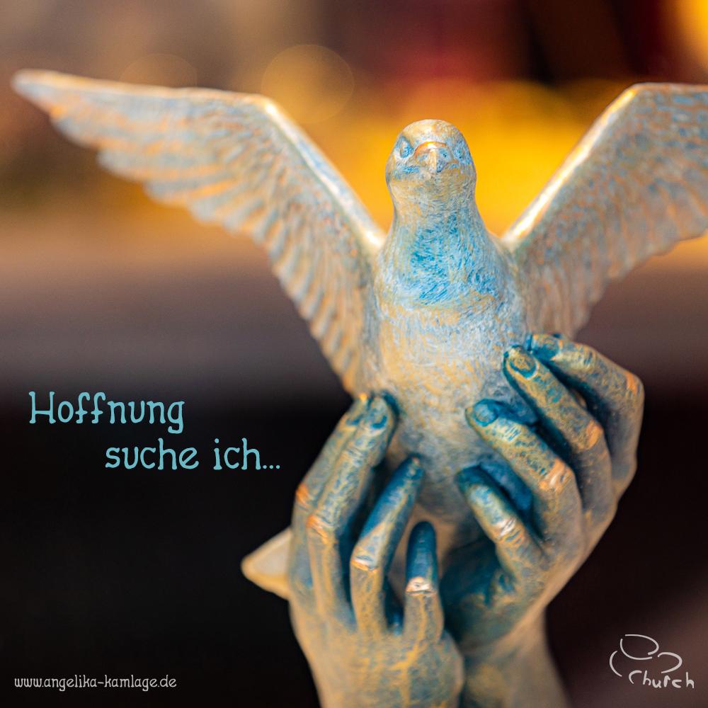 Hoffnung suche ich …