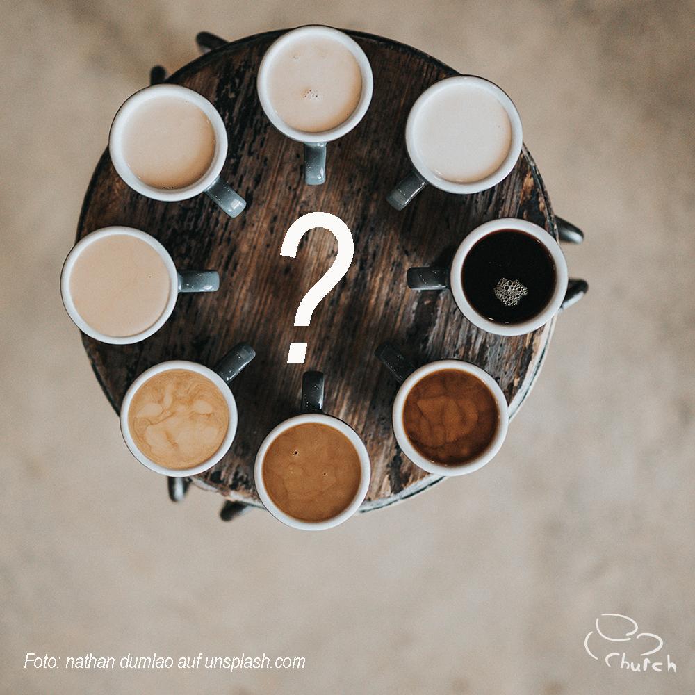 einen Kaffee trinken gehen